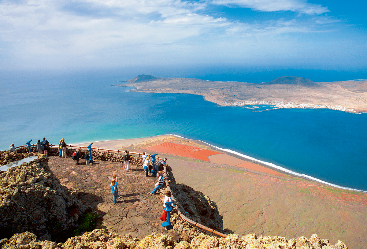 Mirador del Rio, Lanzarote, Canary Islands